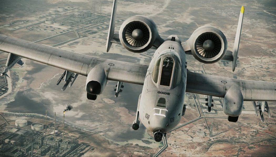 A-10A Thunderbolt II uçurmaca
