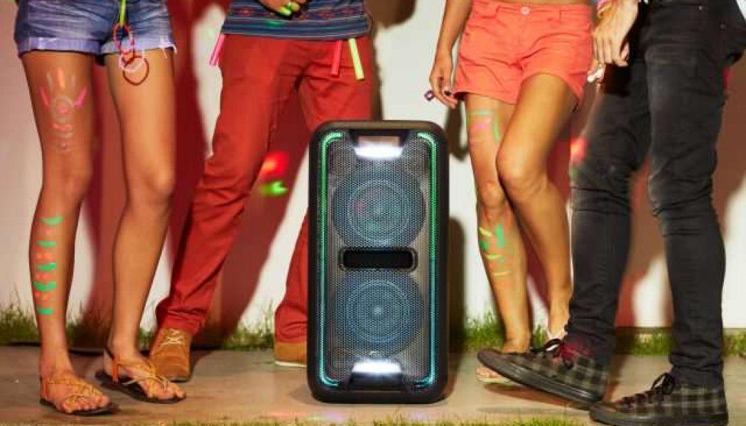 Sony GTK-XB7 Bluetooth özellikli ev ses sistemi