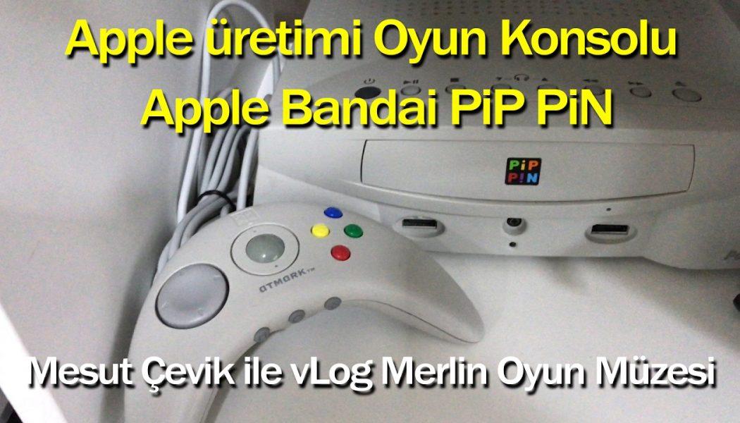 Apple'ın oyun konsolu yaptığını biliyor muydunuz? vLog Oyun Konsolu Müzesi