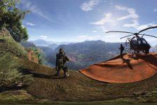 Nvidia Ansel ile kayıt edilmiş 6 farklı 360° Ghost Recon Wild Lands görüntüsü
