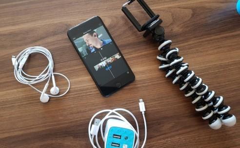 Fuar ve inceleme videoları için bana iPhone 7 Plus yeter!