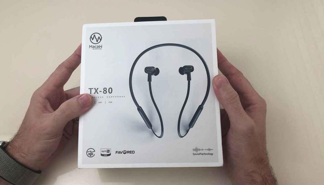 Macaw TX-80 Bluetooth kulaklık incelemesi (Hediyeli)